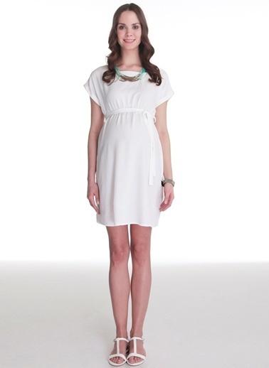 Hooyo Elbise Beyaz